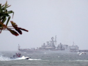 День Независимости: штормовой морской парад и зажигательный Порошенко