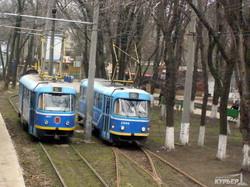Старая Аркадия: на трамвае прямо к морю (Ретро-фото)