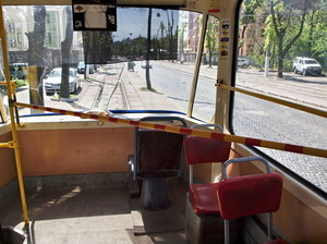 Одесская мэрия закрывает трамвай на Французском бульваре