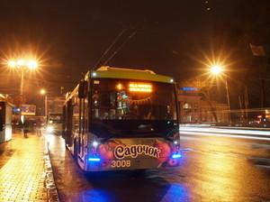 Вместо первого троллейбуса в центре Одессы будет ходить седьмой
