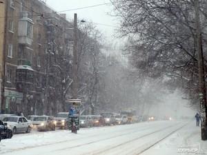 Снегопад: где труднее всего проехать