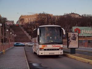 Возобновляется автобусное сообщение Крыма с Одессой и другими городами Украины