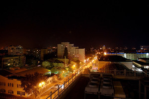Ночная Одесса с высоты птичьего полета (ФОТО)