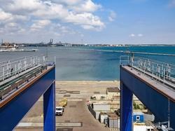 Как выглядит Одесса с 60-метровой высоты портового крана (ФОТО)