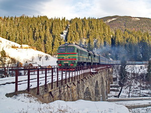 Одесситы скоро смогут уехать в любой город Украины на поезде вместе со своим автомобилем