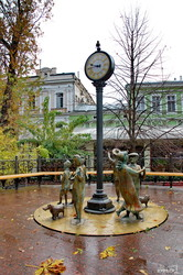 Красивая осенняя Одесса (ФОТО)