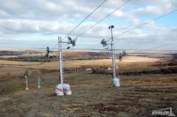 Чтобы покататься на лыжах, одесситам не обязательно ехать в Карпаты - есть Березовка (ФОТО)