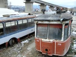 Последние трамваи и троллейбусы Тбилиси: наследие Шеварнадзе и Саакашвили (ФОТО)