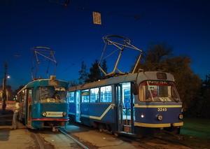 В Одессе из-за подтопления путей изменен маршрут трамвая