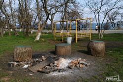 Пафос, пустые пляжи и стройки: одесская Аркадия готовится к лету (ФОТО)