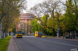 Массовые акции в Одессе изменили движение городского транспорта (ФОТО)