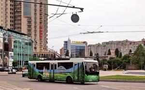 Сегодня начинает ходить летний троллейбус с одесских Черемушек в Аркадию