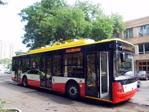 Новые одесские троллейбусы: бесшумные и комфортные (ФОТО, ВИДЕО)