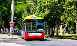 Новые одесские троллейбусы уже работают на 7-м маршруте (ФОТО)