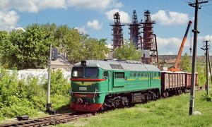 На украинских железных дорогах не хватает грузовых вагонов