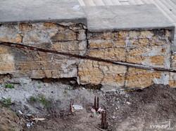 Как ремонтируют главный символ Одессы - Потемкинскую лестницу (ФОТО)