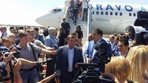 Саакашвили угрожает закрыть одесский аэропорт