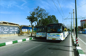 В столице Ирана восстанавливают движение троллейбусов (ФОТО)