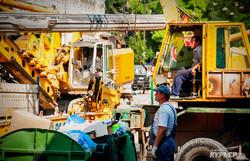 Как ремонтируют одесский мост Коцебу (ФОТО)