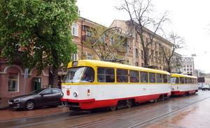 Реконструкция рельсов на Тираспольской площади и у Пересыпского моста сдвигает запуск линии скоростного трамвая на 2017 год