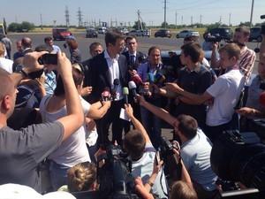 "Одесские фирмы проиграли тендер на ремонт дороги ""Николаев - Днепр"""