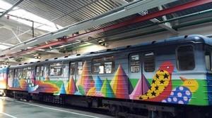 В столичном метро появится поезд-мурал