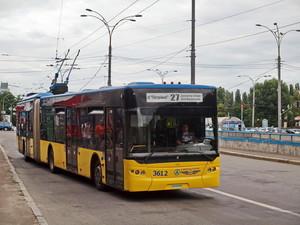 В Киеве объявили два тендера на ремонт троллейбусов: потратят 10 миллионов