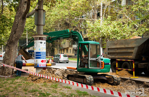 Одесская мэрия впервые обещает качественно отремонтировать теплотрассу на Сегедской