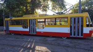 Ко Дню города в Одессе построили новый трамвай (ФОТО)