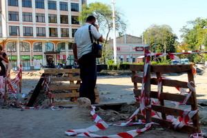 Реконструкция Тираспольской площади в Одессе продолжается (ФОТО)