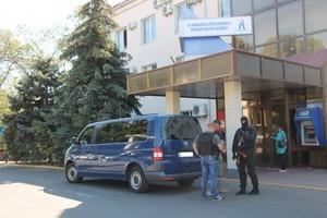 В Николаевсом порту ГПУ провела обыск