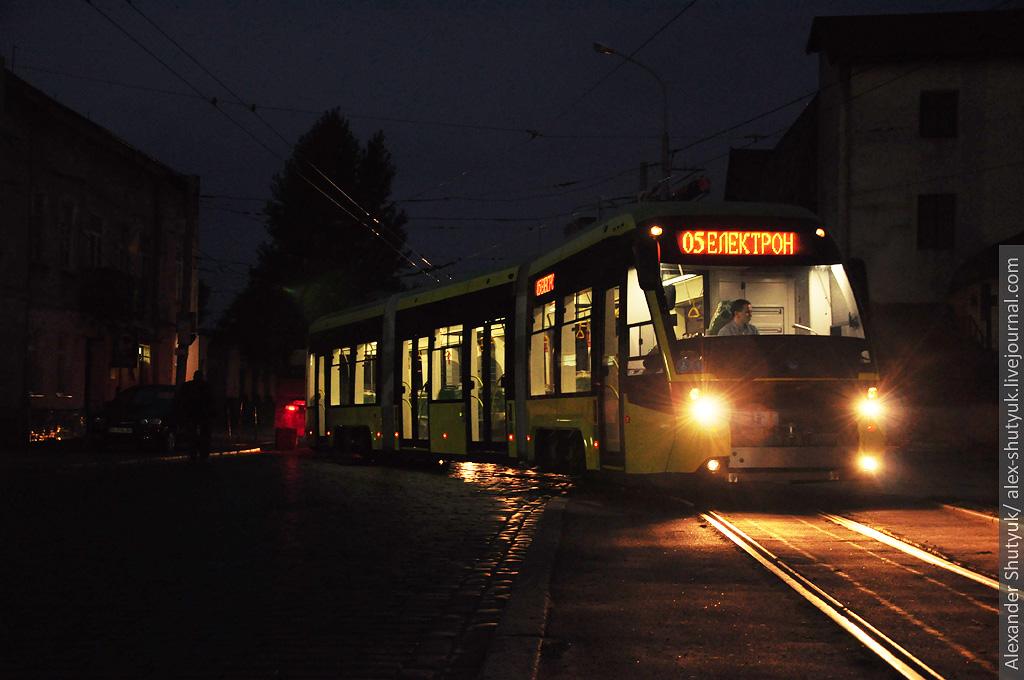 львовский трамвай электрон