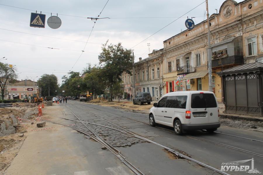 ремонт тираспольской площади в одессе