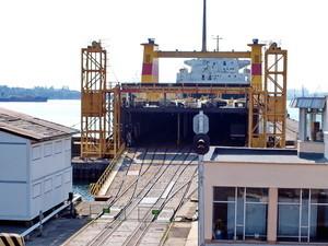 Железнодорожно-паромное сообщение Украина – Болгария теряет объемы