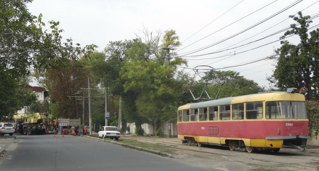 ремонт трамвайных путей в одессе