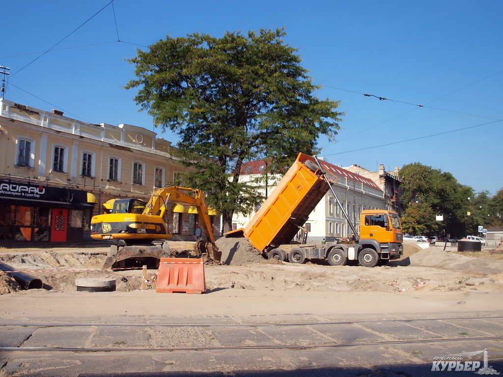 реконструкция тираспольской площади в одессе