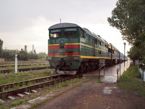 Ураган причинил некоторые неудобства Одесской железной дороге