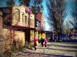 улица мирного славянска около сбу