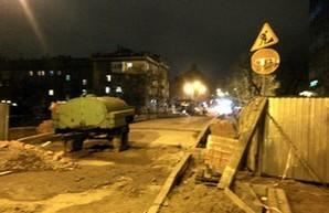 С одесского моста Коцебу убрали строительный забор (ФОТО)