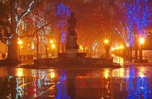Романтический вечерний Приморский бульвар в Одессе (ФОТО)