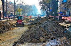 В Одессе продолжается ремонт Тираспольской площади (ФОТО)
