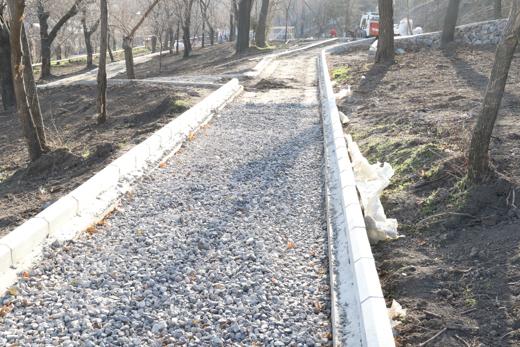 В Одессе продолжается благоустройство Стамбульского парка