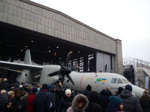 """""""Антонов"""" представил новейший самолет Ан-132"""