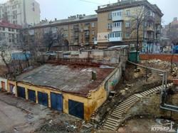 Старинный мост: уродство новых временных конструкций (ФОТО)