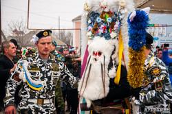 """В Одесской области в день Рождества отметили языческий обряд """"Мошул"""" (ФОТО)"""