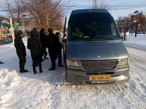 """""""Левые"""" маршрутки из Николаева в Одессу подняли стоимость билета до 240 гривен (ФОТО)"""