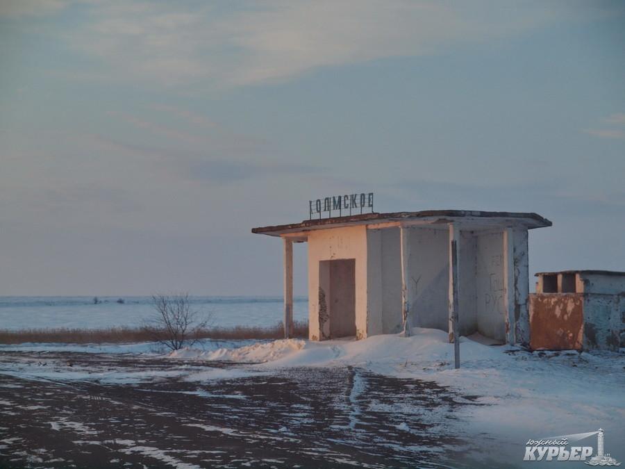 Как обстоят дела с расчисткой трассы Одесса-Рени (фоторепортаж)