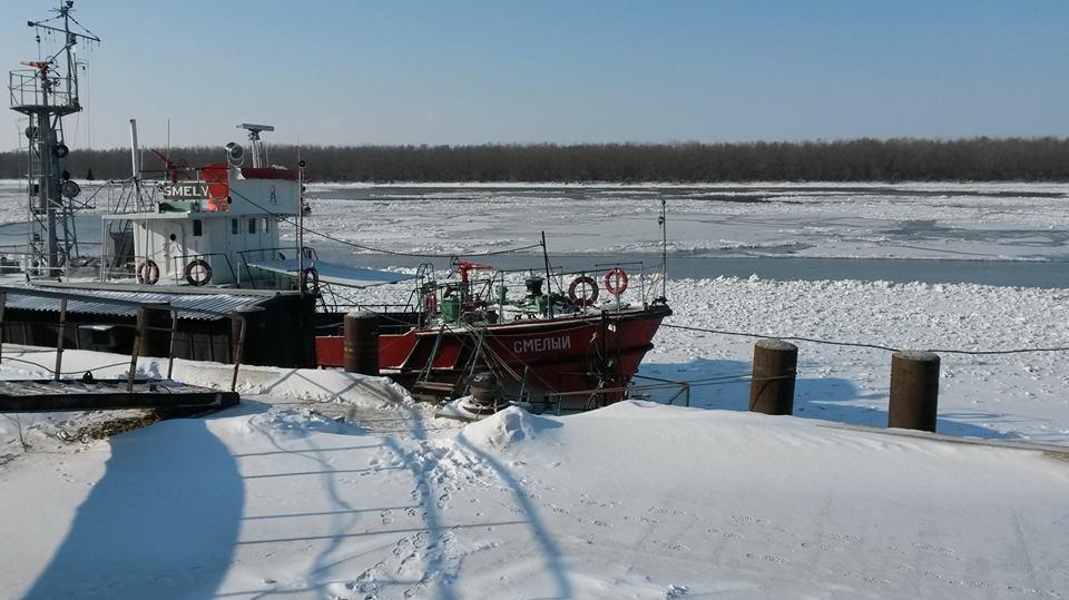На Дунае объявлено начало ледовой кампании