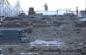 Легендарный символ Одессы - Потемкинская лестница - под угрозой из-за заливания водой в морозную погоду (ФОТО, ВИДЕО)