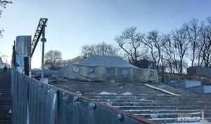 Разруха в Одессе начинается с Потемкинской лестницы